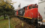 CN 9677 returning on local